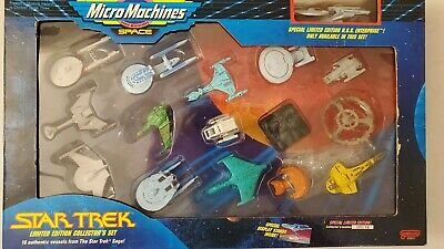STAR TREK MICRO MACHINES 1993 LIMITED EDITION COLLECTORS SET - New Sealed Box