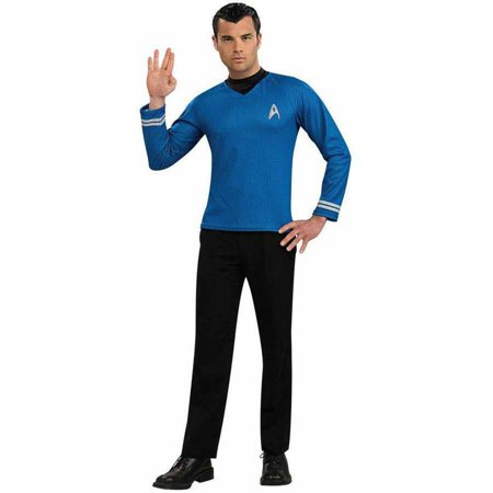 Star Trek Movie (2009) Blue Shirt Men's Adult Halloween Costume