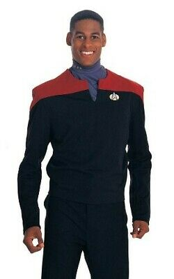 Star Trek TNG Deep Space Nine  Adult Costume Uniform Shirt Cosplay Pullover Tops