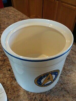 Vintage 1993 Star Trek Enterprise Undiscovered Country Pfaltzgraff Cookie Jar